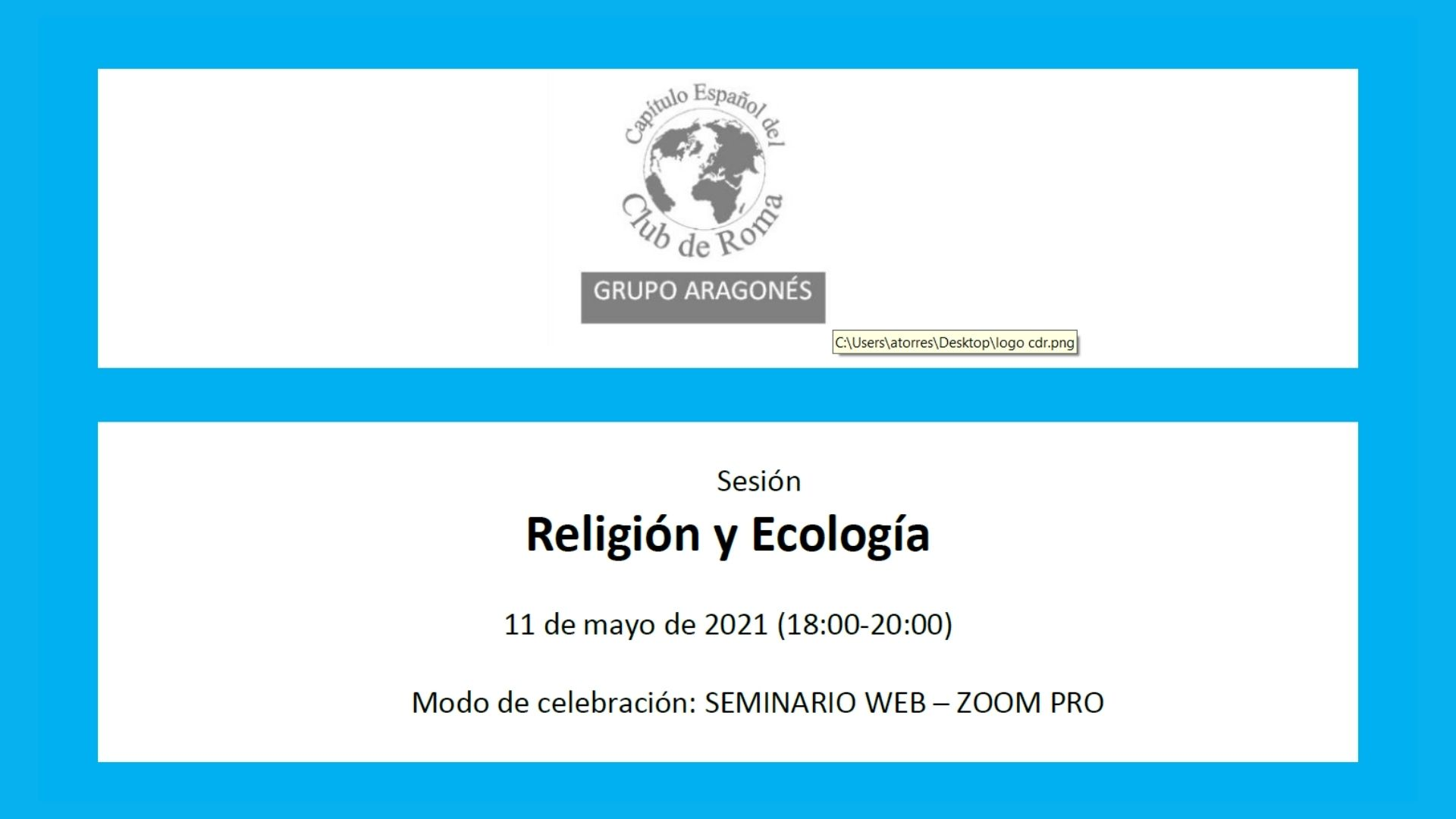 Sesión Religión y Ecología