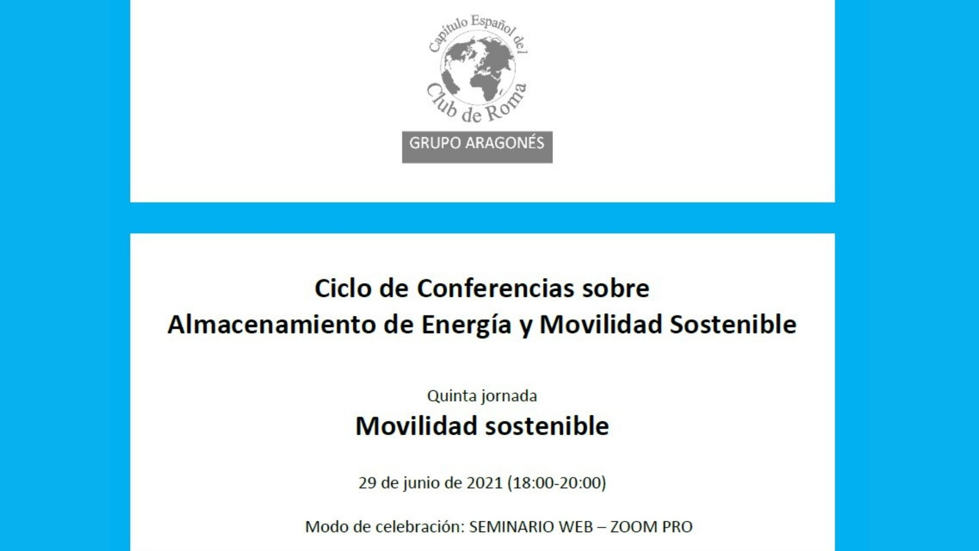 Jornada Movilidad Sostenible
